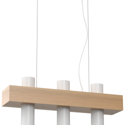 Lampa wiszaca WEST WHITE 3xGU10