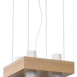 Lampa wiszaca WEST WHITE 4xGU10
