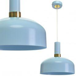 Lampa wisząca MALMO BLUE 1xE27