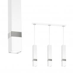 Lampa wisząca VIDAR WHITE/CHROME 3xGU10