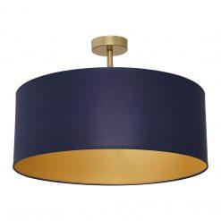 Lampa sufitowa BEN NAVY BLUE/GOLD 3xE27