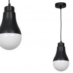 Lampa wisząca HELIOS BLACK 1xE14 40W