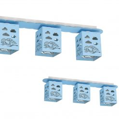 Lampa sufitowa RALLY BLUE 3xE27 60W