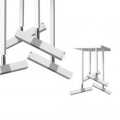 Lampa sufitowa CASTRO WHITE / CHROME 4xG9