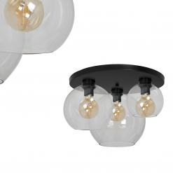 Lampa sufitowa SOFIA CLEAR 3xE27