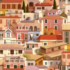 Tapeta Coordonne Mallorca 8400050 Valldemossa Sunrise