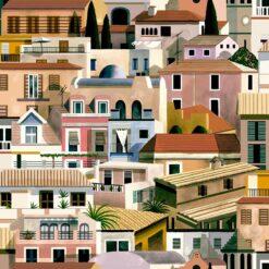 Tapeta Coordonne Mallorca 8400052 Valldemossa Night